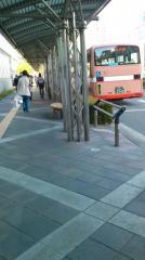 「明石駅」バス停留所
