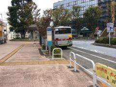 「西大井駅」バス停留所