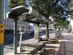 「山形屋前」バス停留所