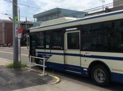 「猪之越町」バス停留所