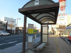 「住吉町交番前」バス停留所