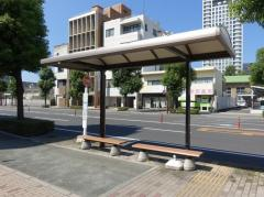 「八本松」バス停留所