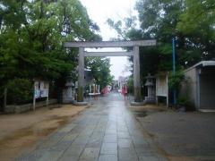 長田神社_施設外観