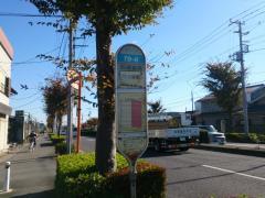 「石御堂橋」バス停留所
