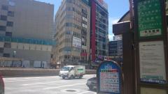 「数寄屋橋」バス停留所