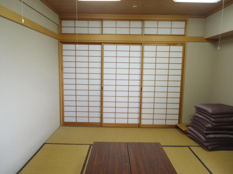 和室があります。