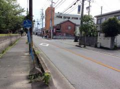 「西橋内中学前」バス停留所