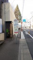 「聖母病院」バス停留所