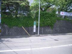 「向山高校前」バス停留所