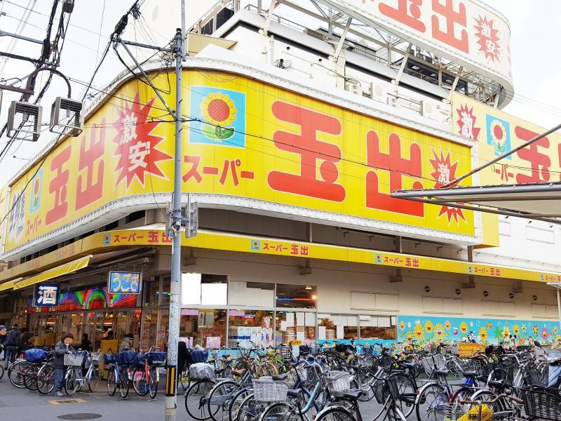 スーパー玉出千林店_施設外観