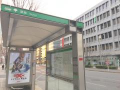 「築地」バス停留所