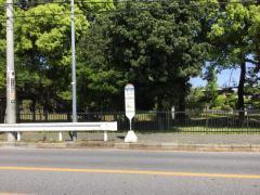 「芝川」バス停留所