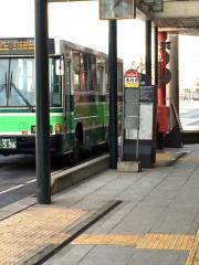 「木内前」バス停留所