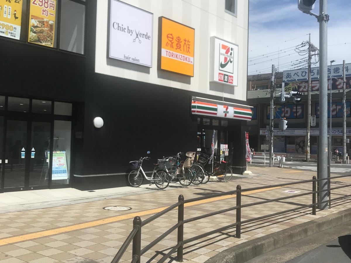 セブンイレブン 三郷駅北口店_施設外観