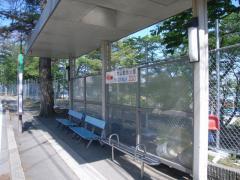 「八木山動物公園前」バス停留所