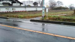 「南中前」バス停留所
