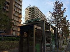 「脇の浜住宅中央」バス停留所