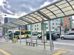 「葛西駅前」バス停留所