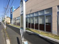 「牛田橋」バス停留所