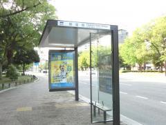 「鶴見橋」バス停留所