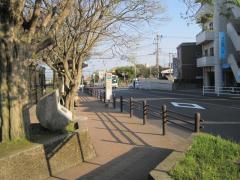 「平和公園前」バス停留所