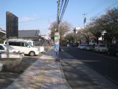「紫原中前」バス停留所