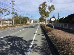 「大崎製作所」バス停留所