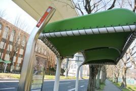 「大津橋」バス停留所