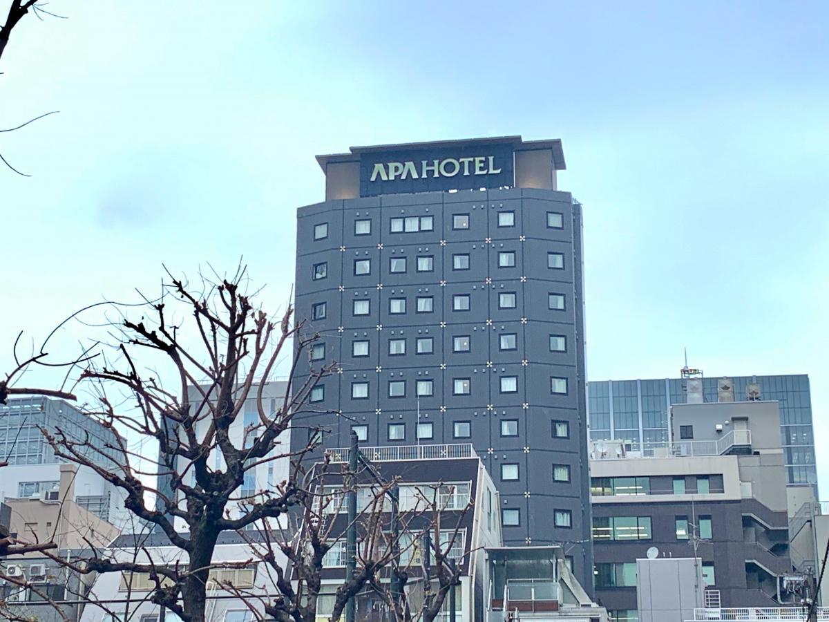アパホテル 新橋虎ノ門_施設外観