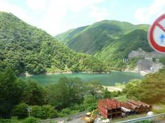 稲核ダム湖