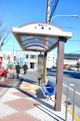 「上鎌田」バス停留所