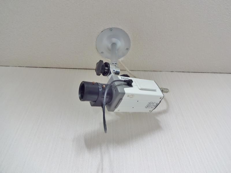 廊下 防犯カメラ