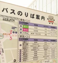「渋谷駅」バス停留所