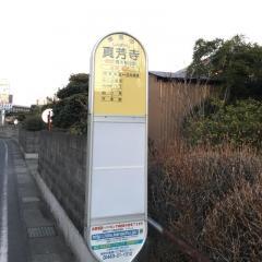 「真芳寺」バス停留所