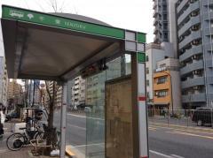 「千束」バス停留所