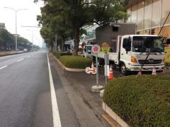 「千葉中央警察署」バス停留所