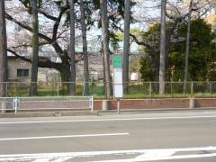 「農学部前」バス停留所