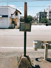 「育成牧場前」バス停留所