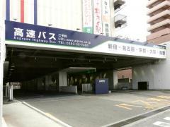 「松本バスターミナル」バス停留所
