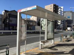 「日ノ出通り」バス停留所