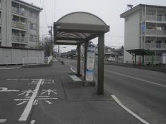 「若槻団地中央」バス停留所