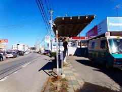 「真鍋橋」バス停留所