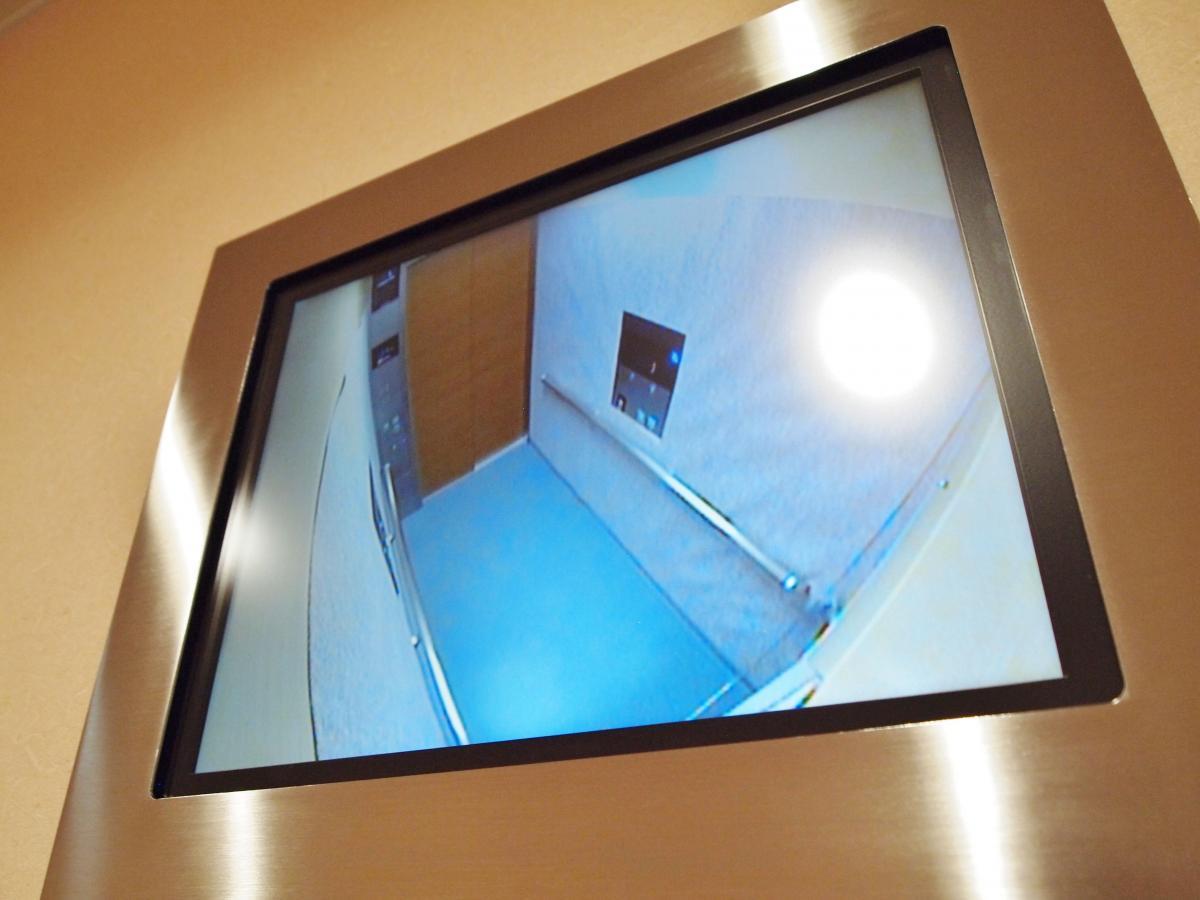 エレベーター カメラモニター