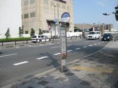 「左門殿橋」バス停留所