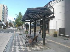 「昭和通り」バス停留所