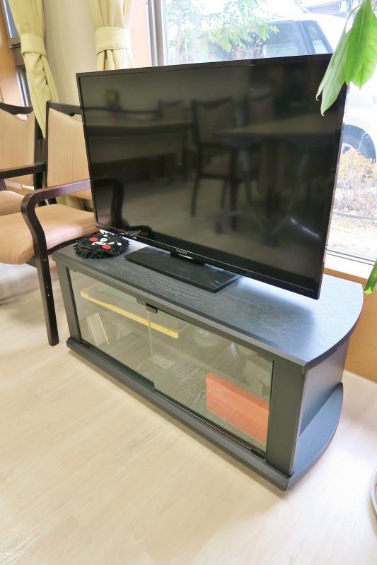 厨房前テレビ
