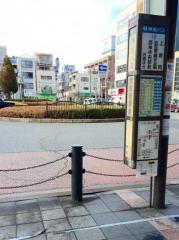 「大久保駅」バス停留所