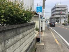 「市場」バス停留所