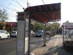 「一本桜」バス停留所