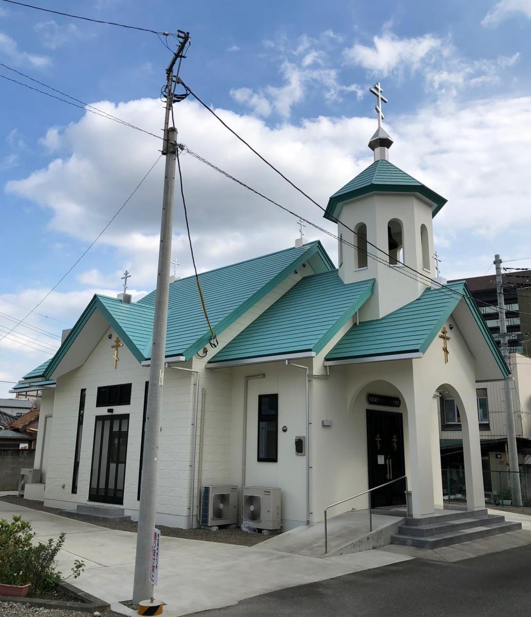 前橋ハリストス正教会・亜使徒大主教聖ニコライ聖堂_建物全景